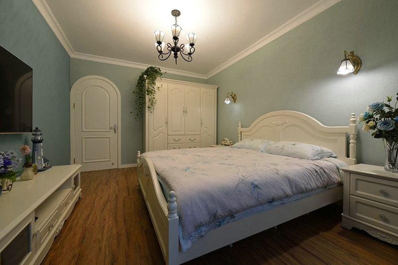 85㎡地中海风格卧室装修