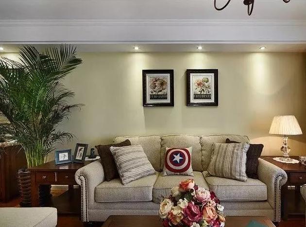 从两个不同的角度来看客厅