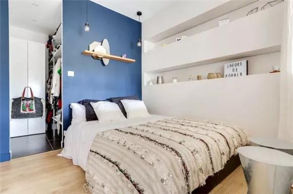 37平小户型现代简约卧室装修