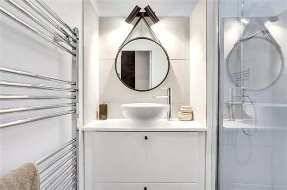 37平小户型现代简约卫生间装修