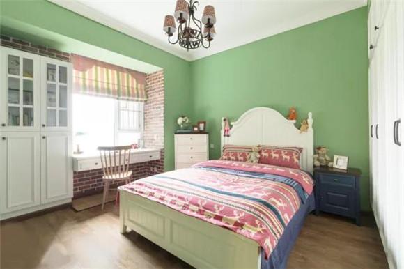95平米三室一厅次卧装修效果图