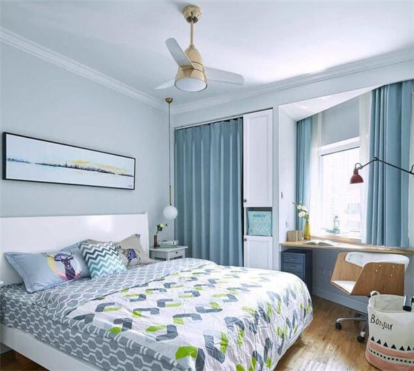 不规则卧室装修效果图
