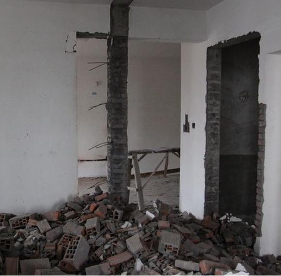 墙体改造误区