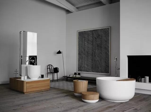 卫生间圆形浴缸效果图1