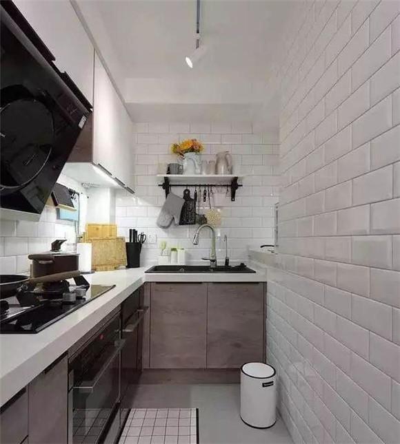 64㎡小户型北欧风厨房装修