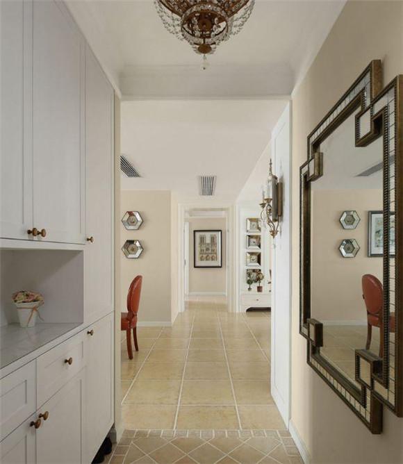 130平米三室两厅玄关装修