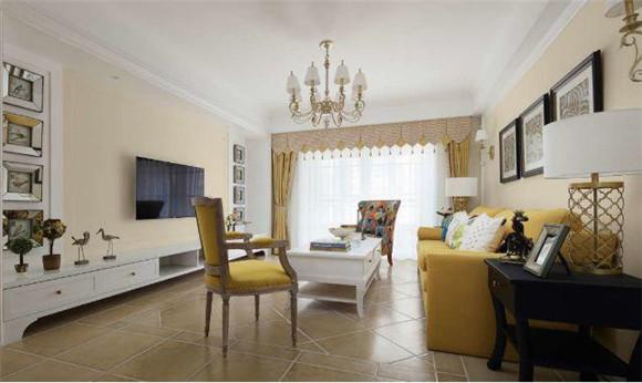 130平米三室两厅客厅装修