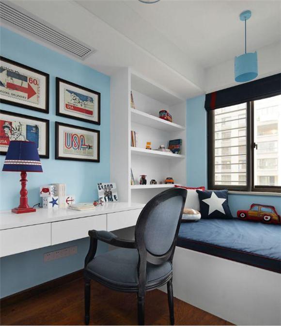 130平米三室两厅儿童房装修