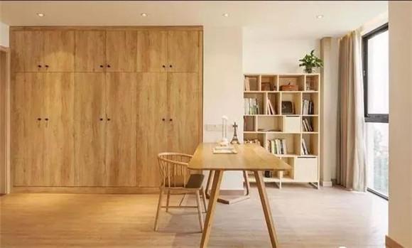 80平米小户型跃层书房装修
