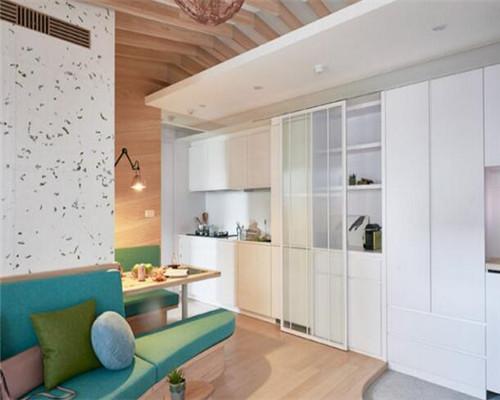 单身公寓装修效果图3
