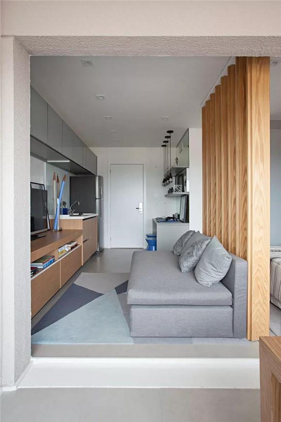 33平米一室一厅装修