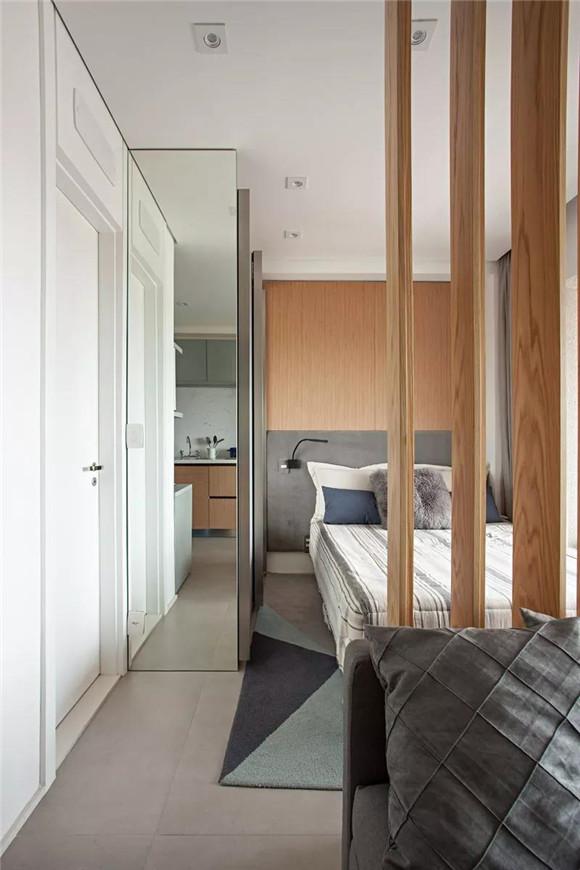 33平米小户型一室一厅卫生间装修