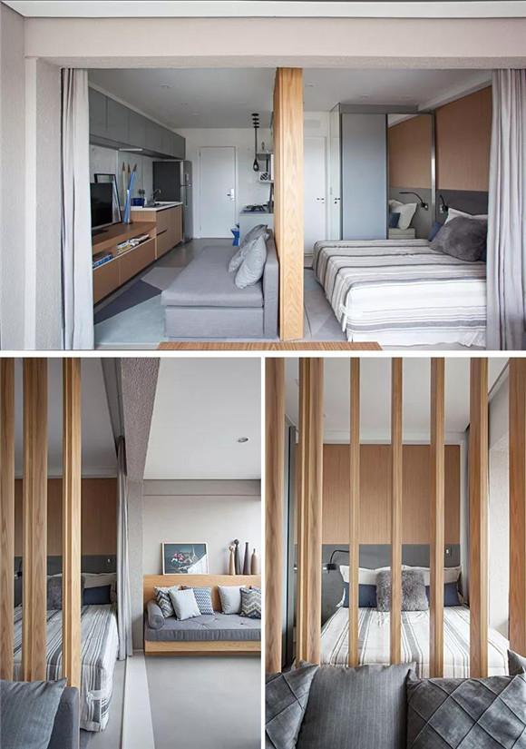 33平米小户型一室一厅卧室装修
