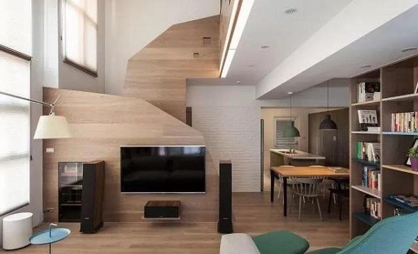 loft户型北欧装修风格