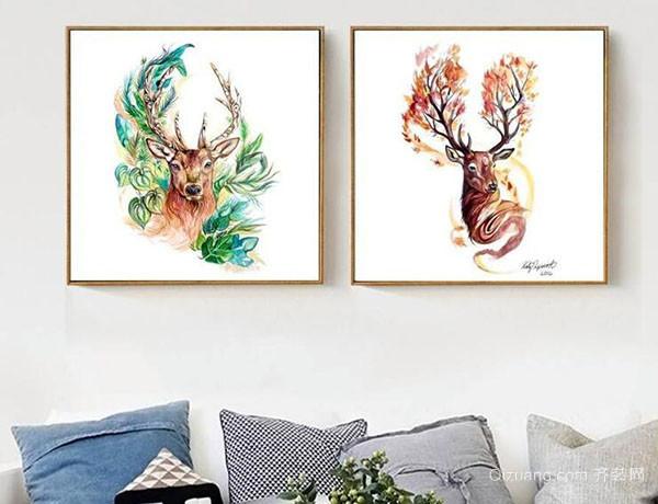 怎么选择客厅挂画
