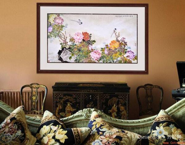 简约风格客厅挂画