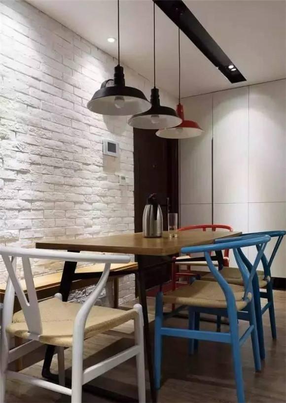 89平米现代北欧风餐厅装修