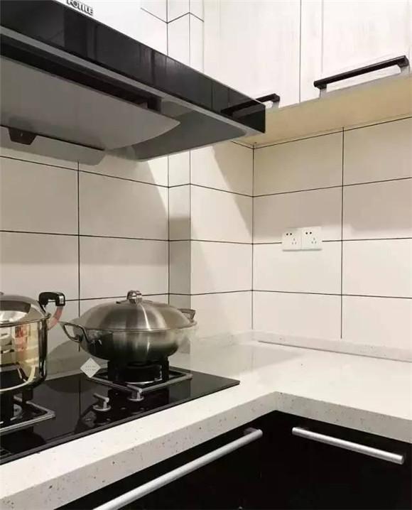 89平米现代北欧风厨房空间