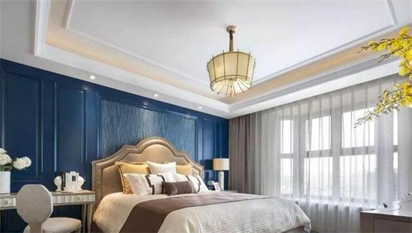 新美式风格卧室装修效果图