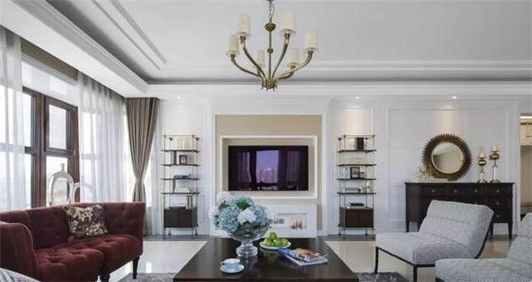 新美式风格客厅装修效果图