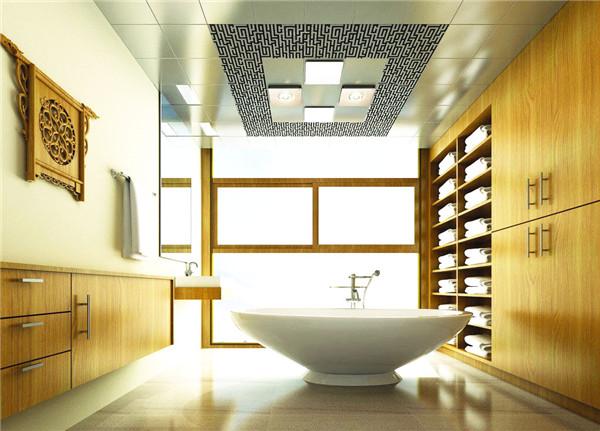 卫浴间吊顶效果图