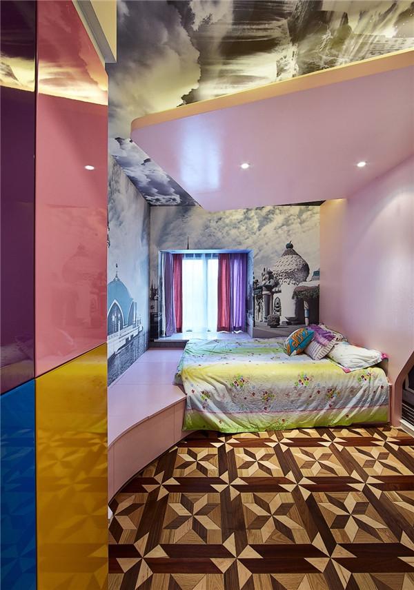 107平2居室的儿童房效果图
