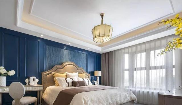 145㎡新美式三室两厅玄卧室装修