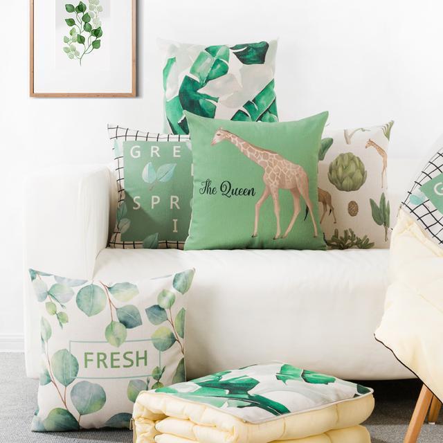 客厅抱枕装饰设计