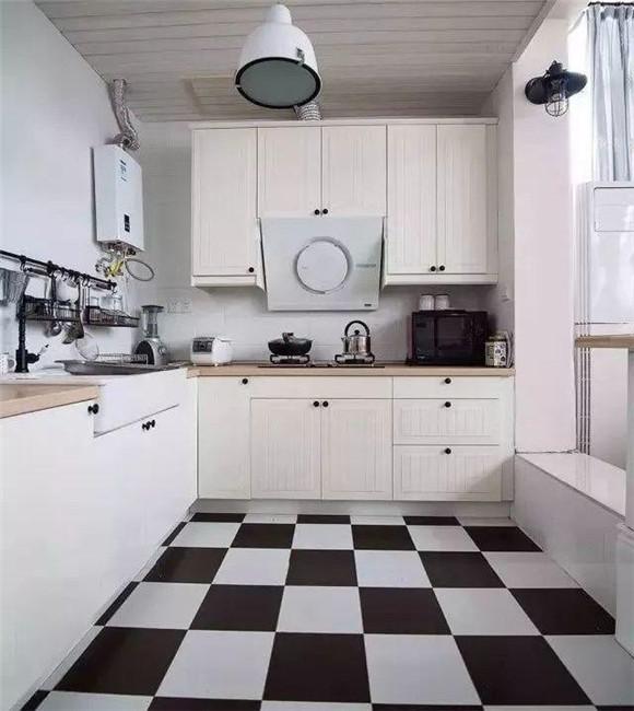 现代简约厨房效果图一