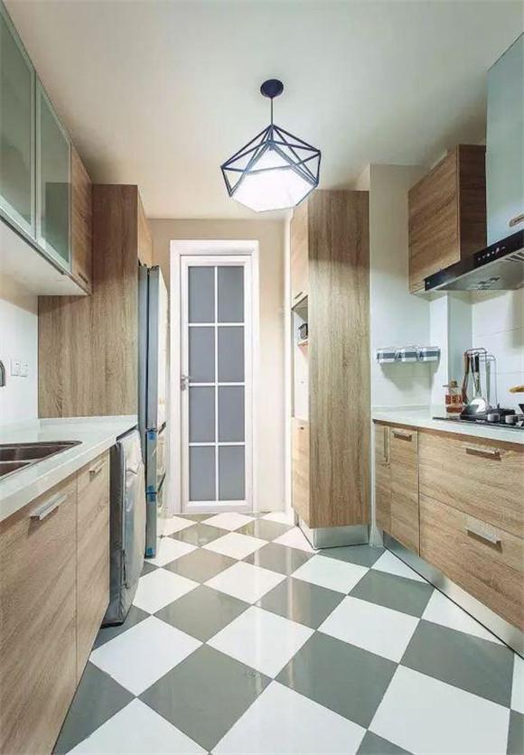现代简约厨房效果图十三