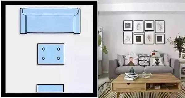 客厅的沙发怎么摆放