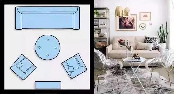 客厅沙发一般怎么摆放