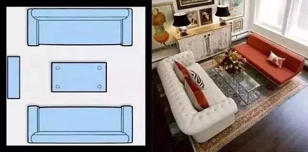 客厅沙发怎么摆放