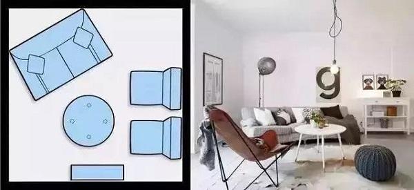 客厅沙发如何摆放