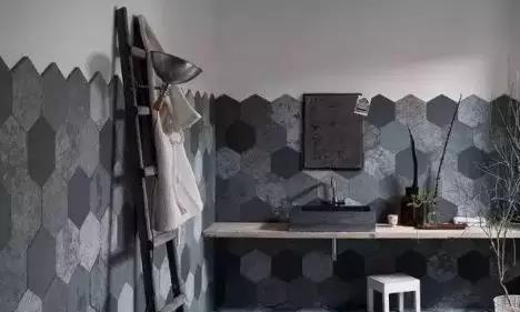 马赛克瓷砖腰线图
