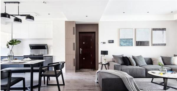 现代简约三居室装修