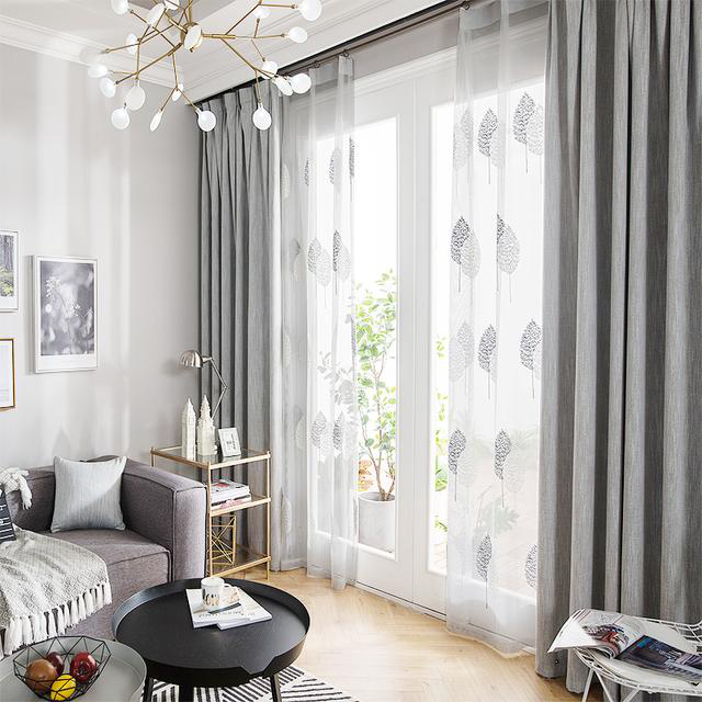 卧室家居用品窗帘
