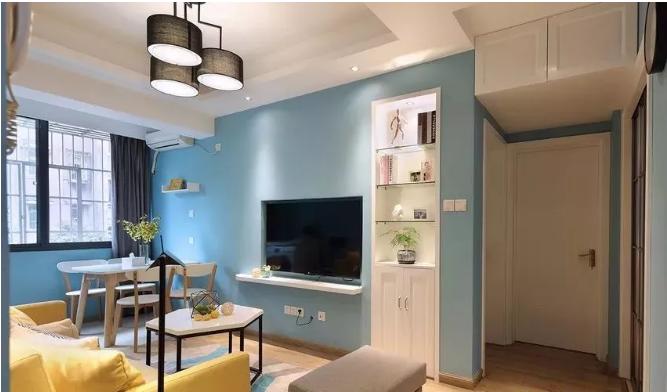 60平小户型客厅细节改造