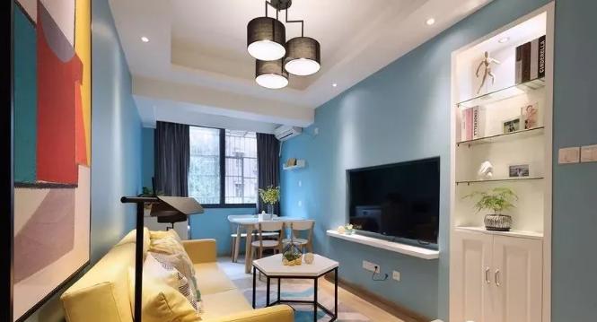 60平小户型客厅改造后效果图