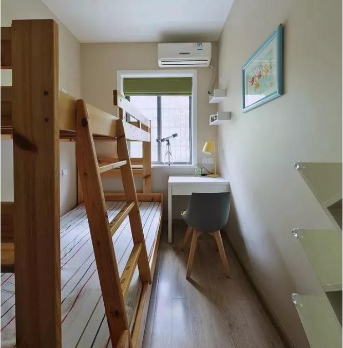 60平小户型儿童房改造后