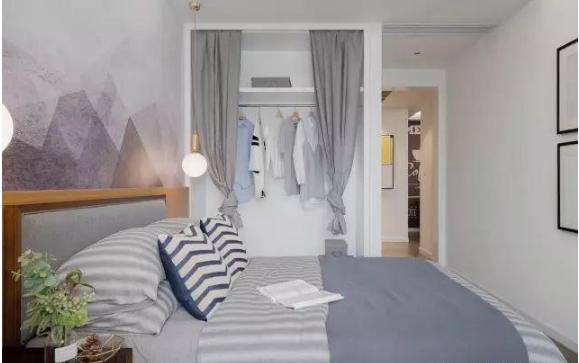 103㎡北欧风格新房次卧装修