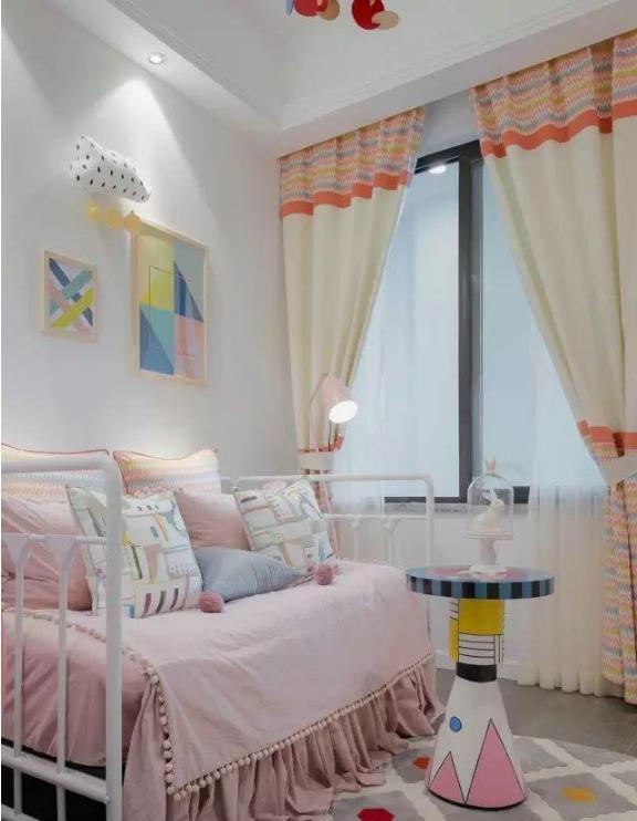 103㎡北欧风格新房儿童房装修