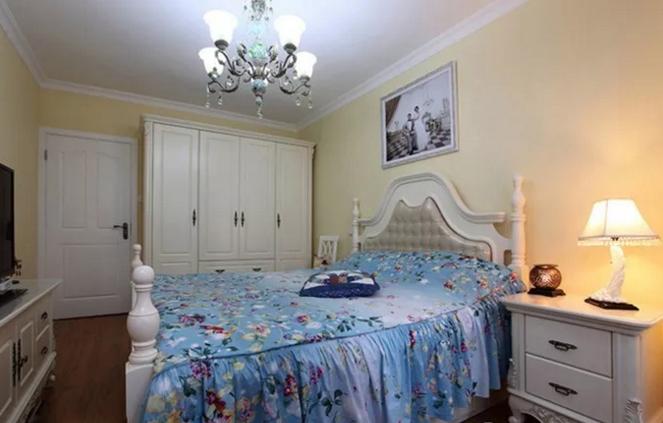 66平家装卧室效果图