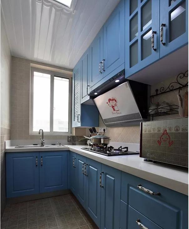 66平家装厨房效果图