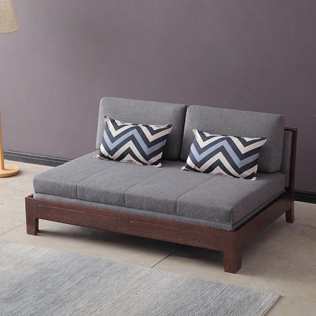 木质沙发墙设计