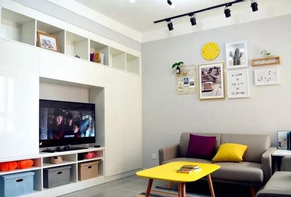 90平米两室一厅装修图片