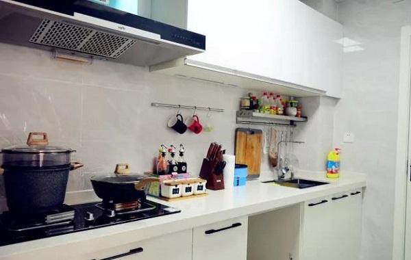 90平米两室一厅厨房装修