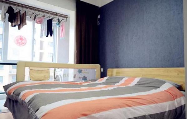 90平米两室一厅卧室装修图片