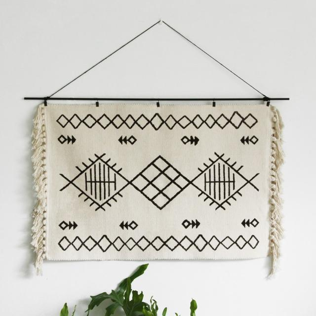 印第安民族编织挂布