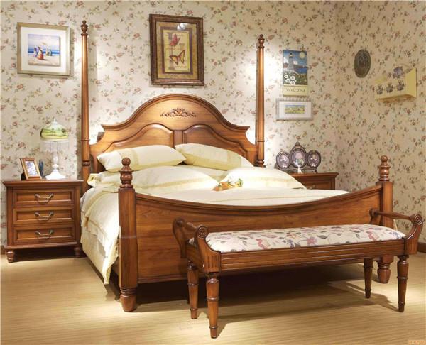 实木和贴皮家具